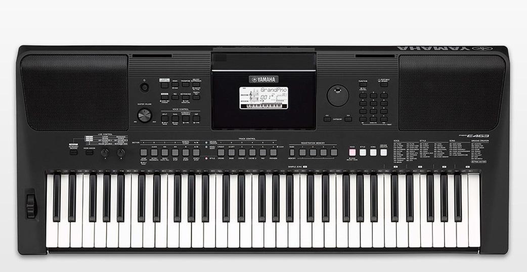 yamaha psr e463 yamaha keyboardy sklep muzyczny. Black Bedroom Furniture Sets. Home Design Ideas